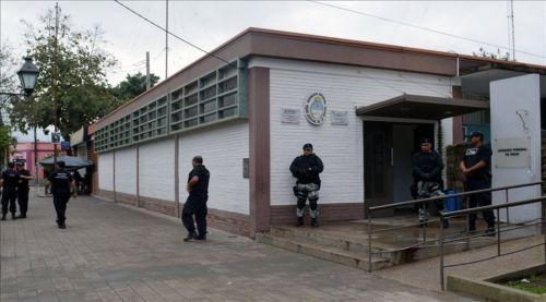 Juzgado Federal de Orán, cuando fue allanado por causas contra el ex juez Reynoso