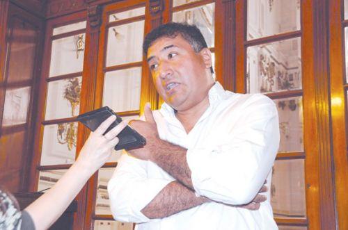 """Fernando Gonza con Nuevo Diario: """"Queremos que el municipio pueda brindarle servicios a la gente""""."""