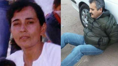 Liliana Ledesma pequeña productora del norte asesinada y Delfín Castedo que hoy está preso.