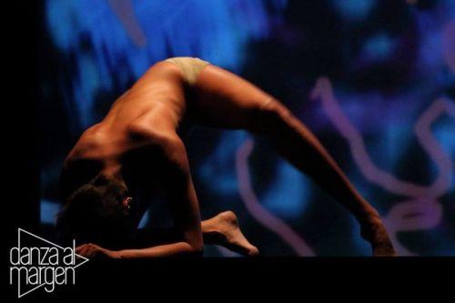 La expresión de la danza contemporánea de lo que fue el encuentro del año pasado (Foto Negro Ramírez)