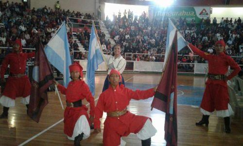 """""""Sentimiento Argentino"""", grupo de danza folclórica de La Merced trajo un reconocimiento desde Ecuador."""