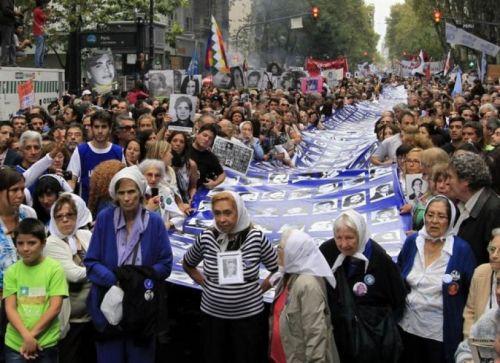 Marchas en todo el país por la Memoria, el repudio al modelo de ajuste económico y a los avances negacionistas desde el Estado.