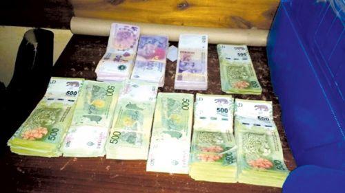 En el operativo se secuestraron 400.000 pesos.