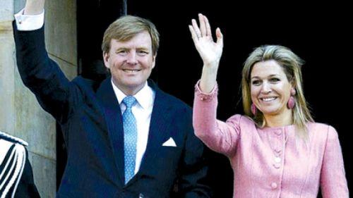 Los reyes de los Países Bajos, Guillermo y Máxima, recibirán a Macri en su primera visita oficial.