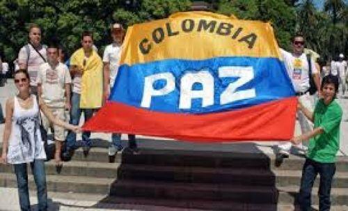 Manifestaciones por la paz.