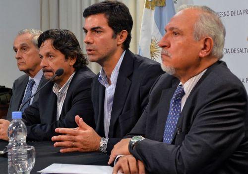 """El arreglo bajo la mesa entre Romero y el actual gobernador que se presentó como """"diálogo político""""."""