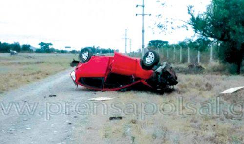 Se investigan las causas que derivaron en el accidente vial.
