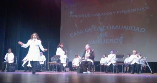 El Encuentro Provincial y artistico para adultos mayores de toda la Provincia