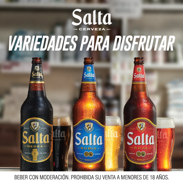 Cerveza Salta.