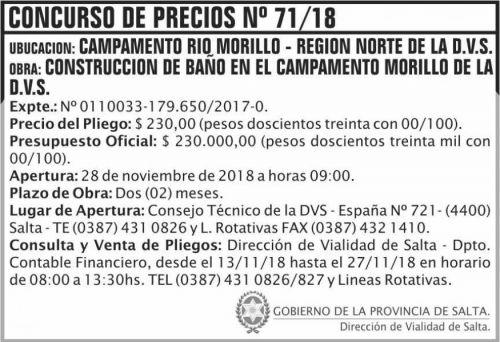 Licitación: Concurso de Precios 71 DVS 2x5 ND (1)