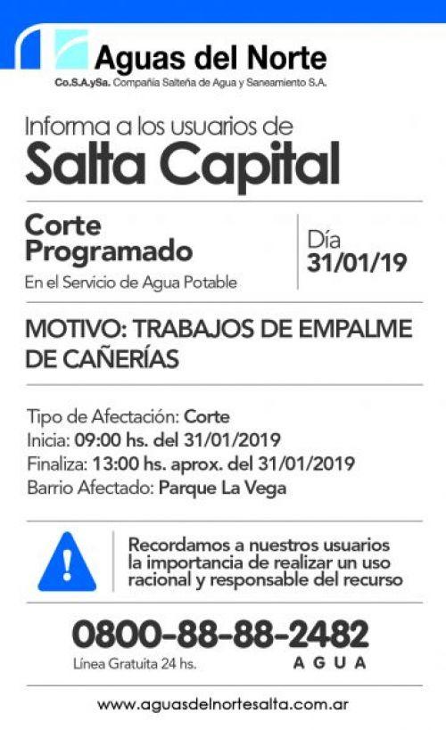 Licitación: AGUAS DEL NORTE 2X12