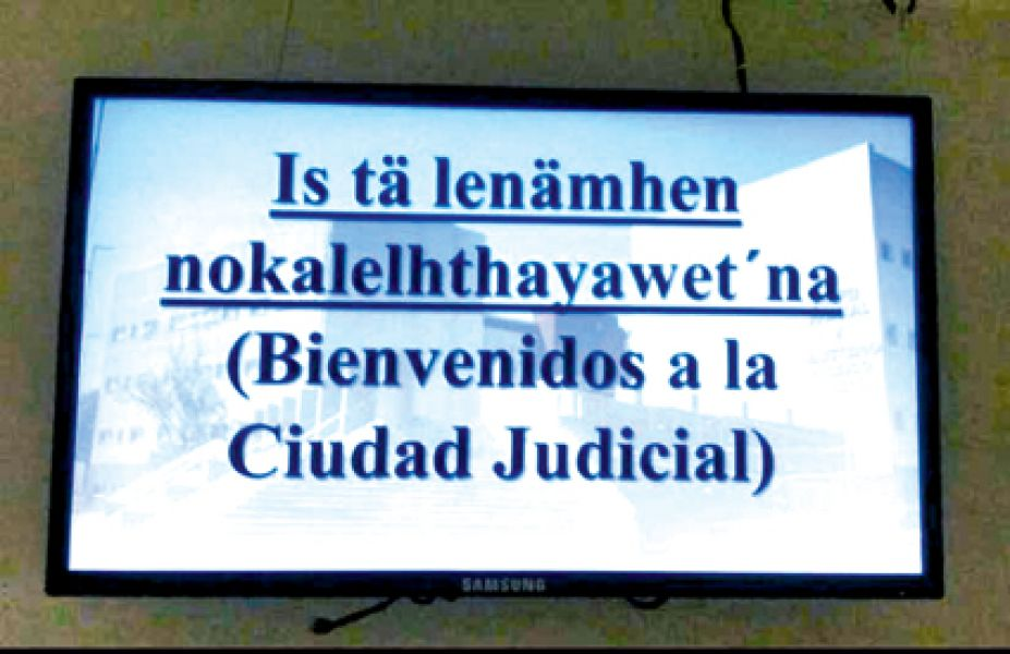La señalización en lengua indígena existe en Tartagal y se extendería a toda la provincia.