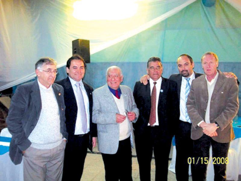 Miguel Talló, Leonardo García, Pedro Sández, Ernesto Gómez, Gonzalo Gómez y Alberto Fermani.
