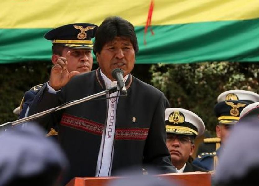 La Constitución de Bolivia solo permite dos mandatos consecutivos, pero se autorizó a Evo Morales a presentarse a un cuarto periodo.