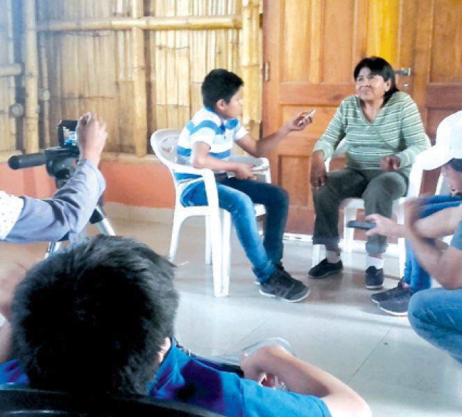 Se habían realizado talleres de comunicación, entre otras acciones (Foto: Vove).