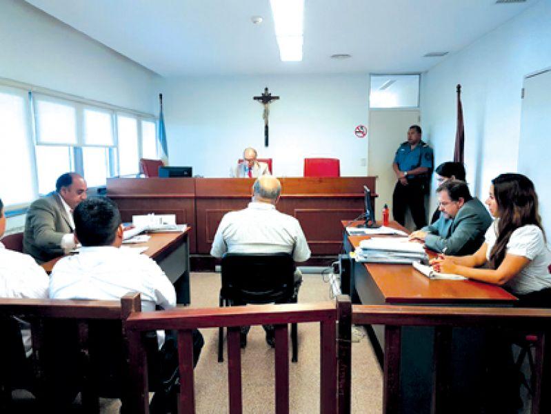 El juicio a diez policías por torturas en una comisaría, se prevé concluya la semana que viene.