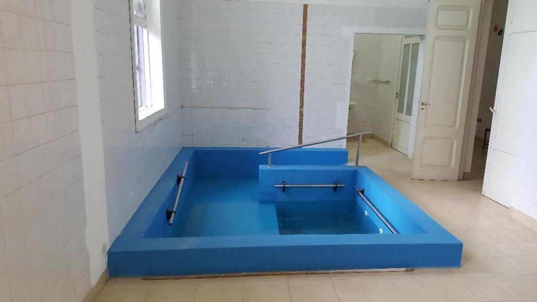 Una entidad europea aportó los fondos para contar con la infraestructura necesaria para la sala de terapia acuática.