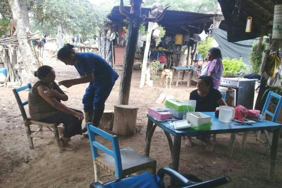 El descenso del nivel del Pilcomayo permite que redoble la atención sanitaria en Santa Victoria Este y parajes afectados.
