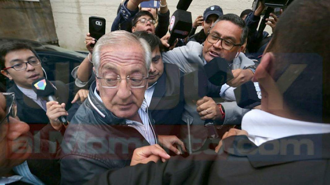 El ex gobernador Eduardo Fellner, al igual que Milagro Salas se considera un preso político. (Foto Jujuy al momento).