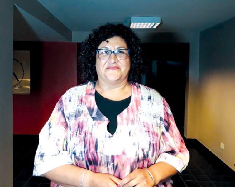 """""""Sumar profesores de educación física al IPS en dónde se tratan patologías no es correcto porque no es de su incumbencia"""",  dijo Haydee Silvestre."""