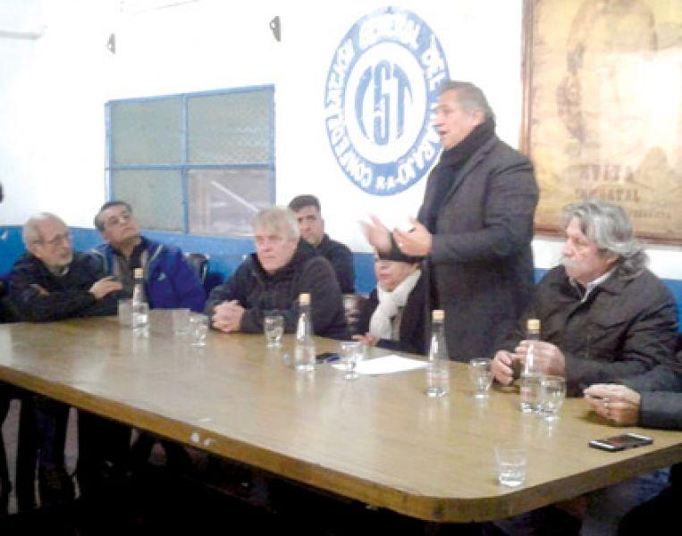 Ayer en la CGT en Salta decidió apoyar a los trabajadores del San Isidro.