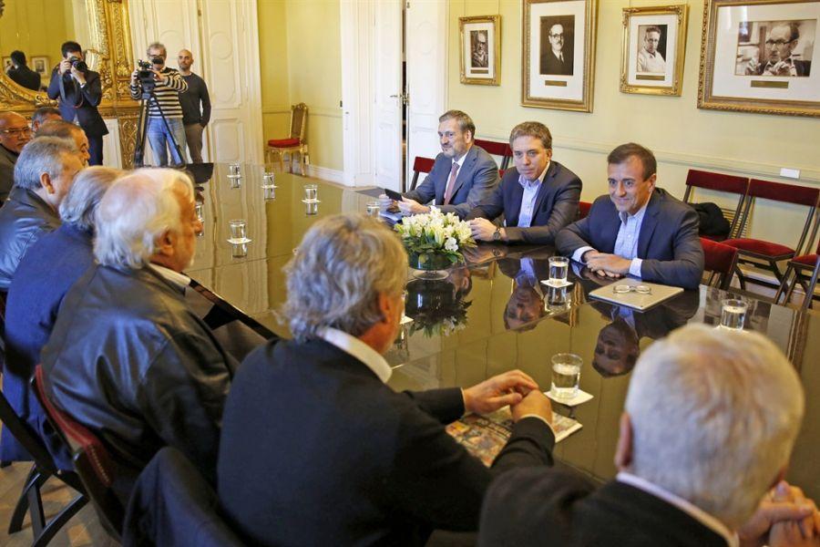 La reunión de mañana será entre los representantes de la CGT y el Ministro Dujovne.