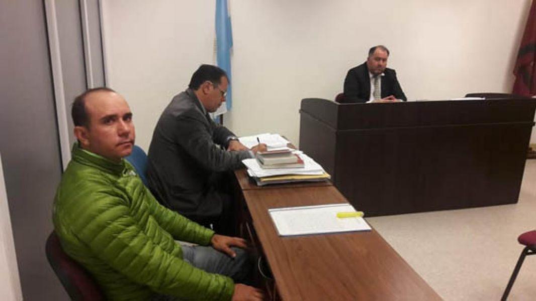 La audiencia del juicio que concluyó con una condena de seis meses de cárcel condicional para Carlos Ferro Podestá (Foto: Julieta Barroso).