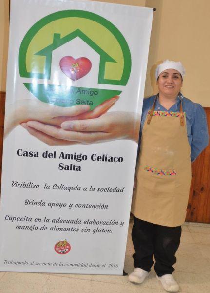 """Cuatro mujeres decidieron conformar un grupo de ayuda llamado """"Casa el Amigo del Celíaco""""."""