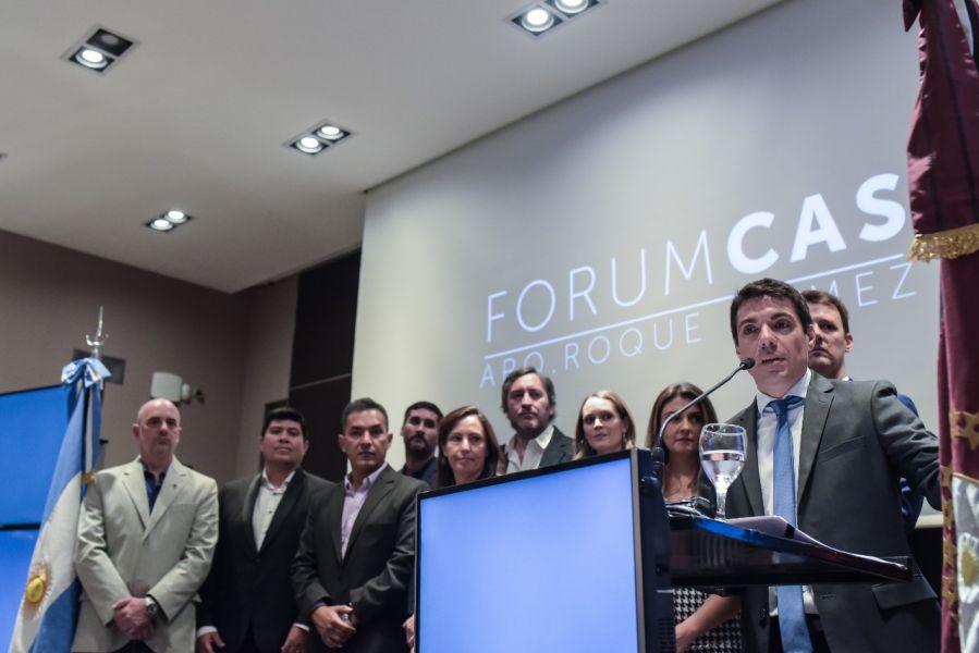 """""""Que me hayan propuesto como presidente de la Federación, muestra la gestión que se hizo durante este período en el Colegio"""", dijo Capobianco."""