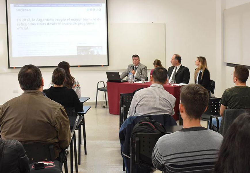 La directora de Cultos dio detalles del trabajo que realiza a nivel local una mesa interinstitucional del plan Siria.