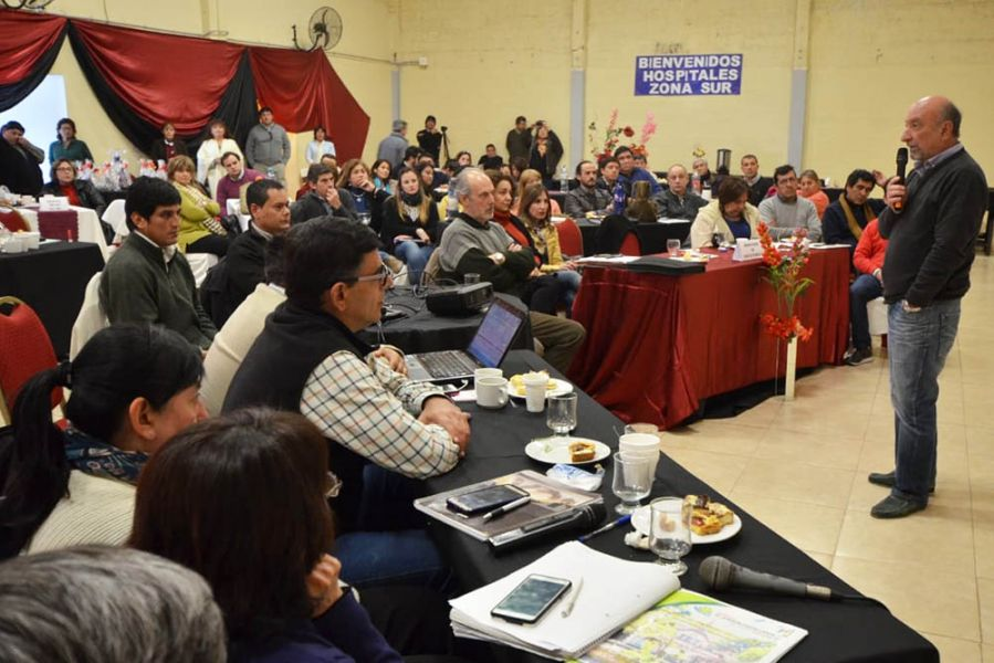 En Güemes, donde se reunió el gabinete de Salud, se dieron a conocer estadísticas de hospitales que integran la red sanitaria de la zona Sur.