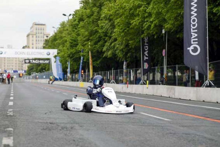 Los karting serán eléctricos marca Rotax.