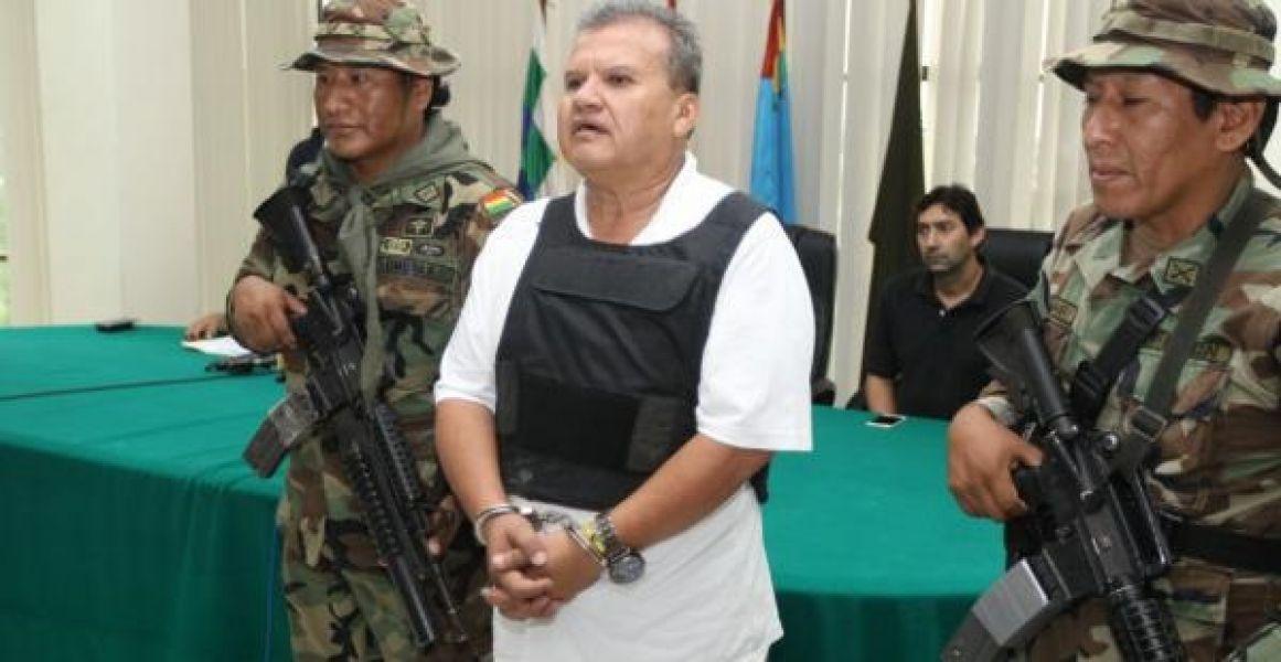 """Wilson Maldonado Balderrama, detenido en Bolivia por la causa """"Febrero blanco""""."""