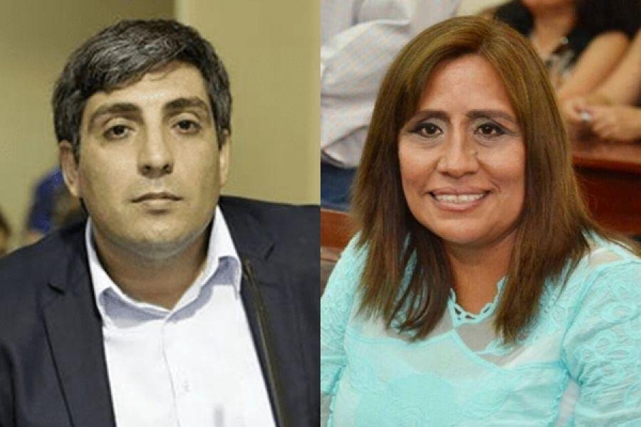 Mario Mimessi y Sandra Vargas, ganadores de la interna de la UCR.