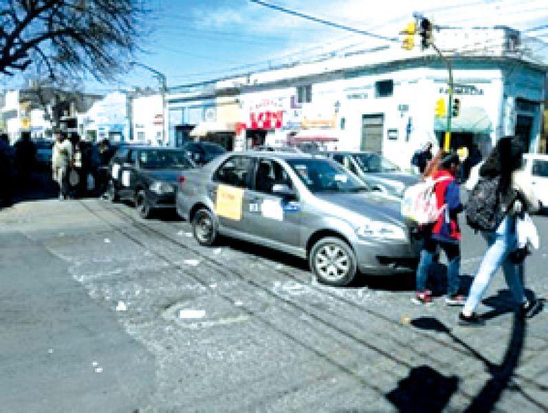 El corte de calle del 23 de agosto sobre avenida San Martín, fue uno de los más largos, se extendió de las 10.45 hasta las 21.35.