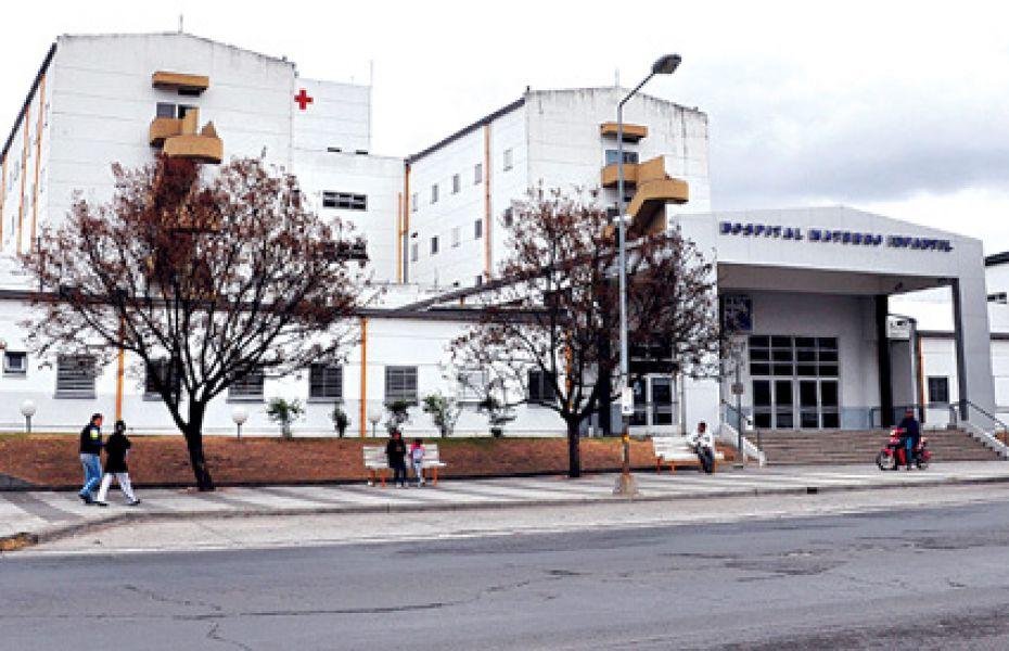 La niña de 4 años golpeada ingresó al Hospital Materno Infantil el 27 de noviembre en grave estado.