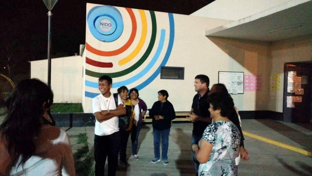 Los vecinos de la Asociación Social y Cultural San Rafael, de San Lorenzo ahora se quedaron sin luz en su sede y piden ayuda a legisladores.
