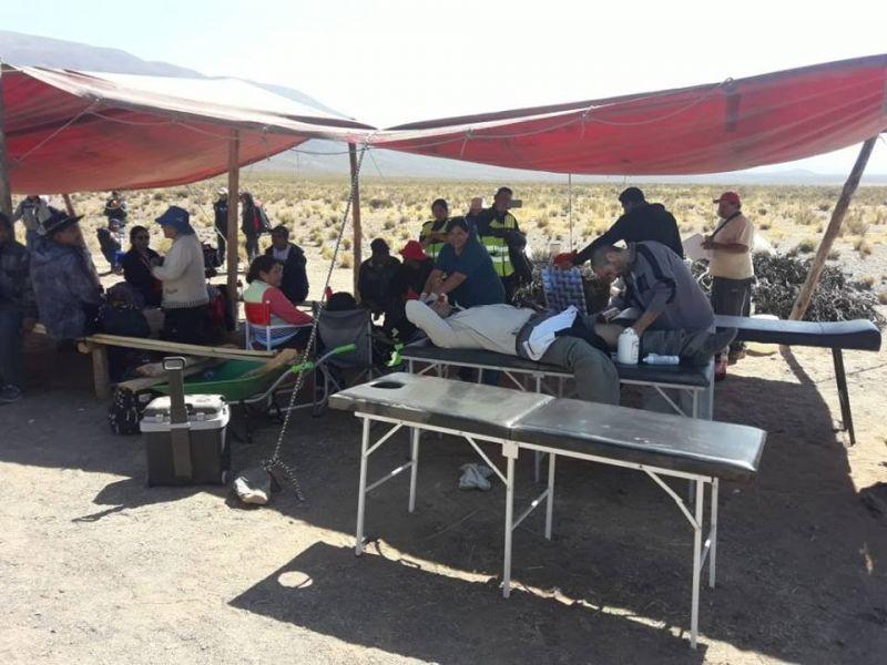 Se montarán 24 puestos médicos de avanzada ubicados en lugares estratégicos y 24 ambulancias de emergencia de provincias vecinas.