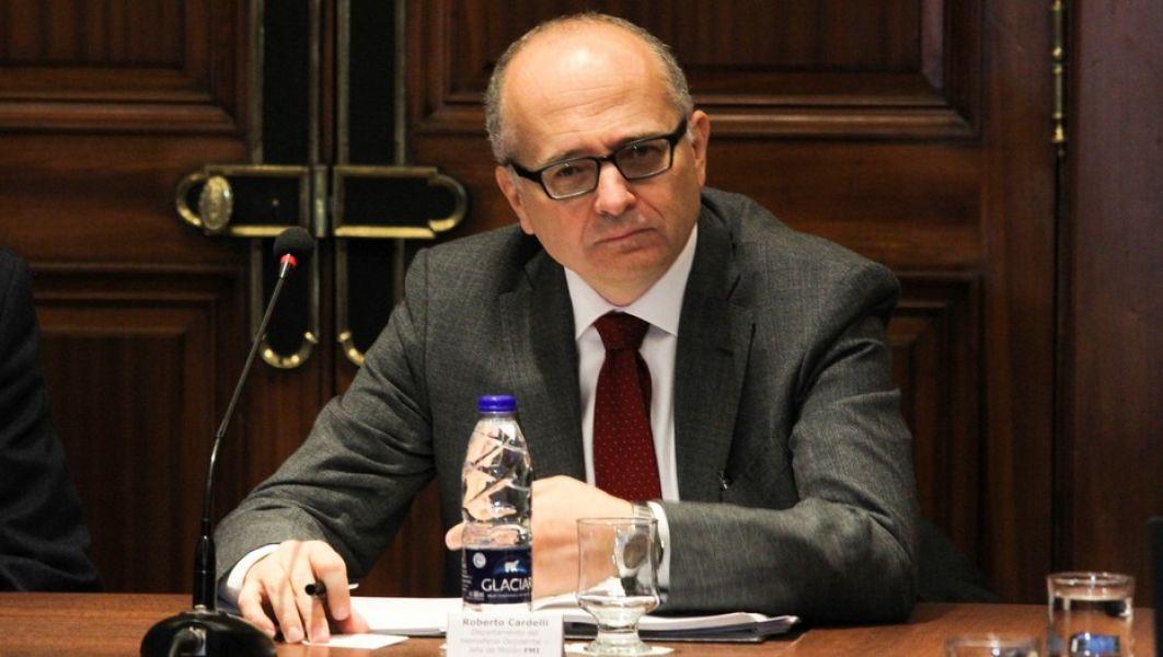El jefe de la misión en Argentina del FMI, Roberto Cardarelli.