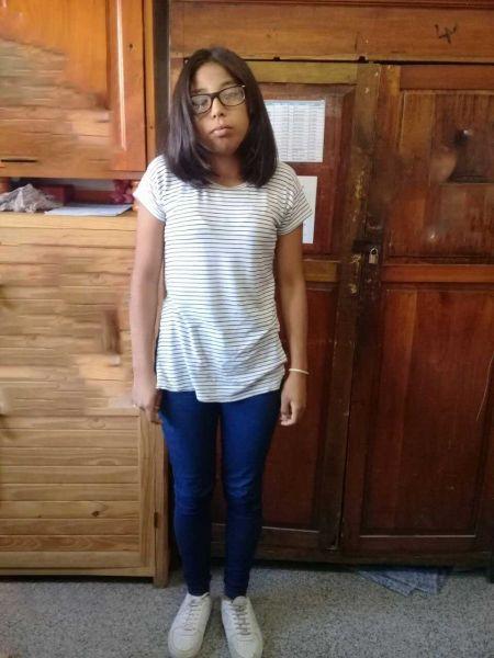 Jazmín Ayelén de 15 años está desaparecida desde el 24 de agosto.