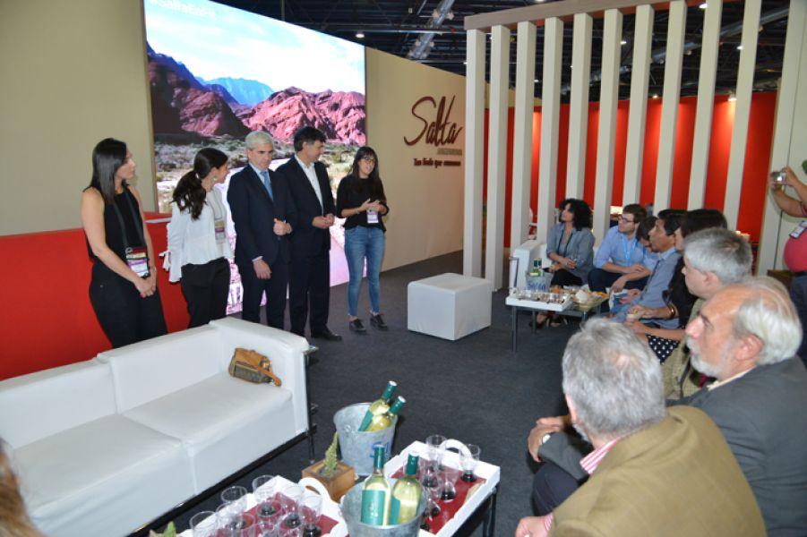 Este año se sumaron 30 bodegas a la Semana del Torrontes en Salta. La presentación se hizo en la Feria Internacional del Turismo.