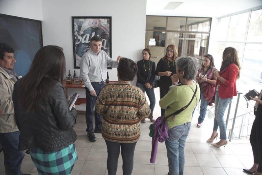 Cerveza Salta presentó a los visitantes la nueva planta de tratamiento de efluentes en funcionamiento desde mediados de septiembre.