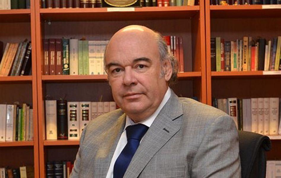 Abel Cornejo, presidente del C. de la Magistratura.