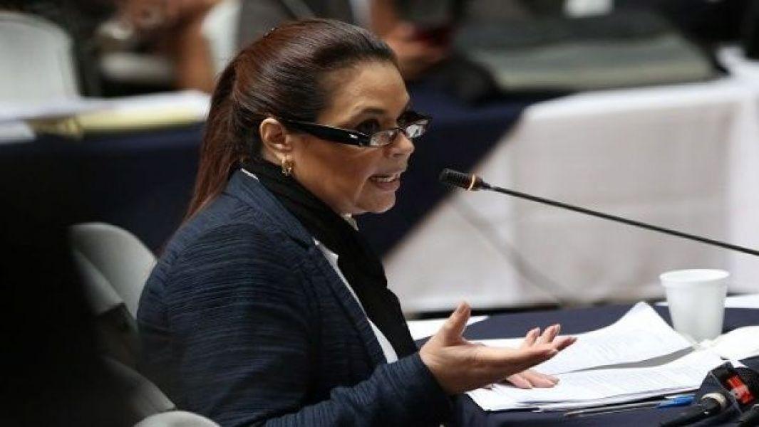 Roxana Baldetti, ex presidenta de Guatemala.