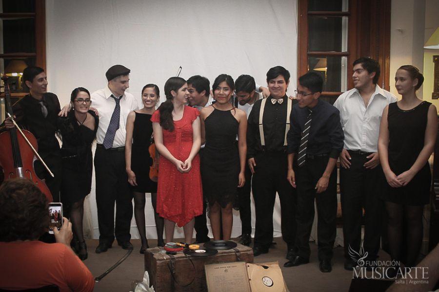 Jóvenes músicos participan de las jornadas de Intercambios Culturales y Estudios Musicales de la Fundación Musicarte.
