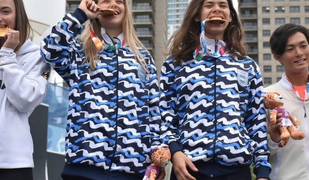 En   Agustina Roth e Iñaki Mazza, aportaron la segunda medalla de Oro para Argentina.
