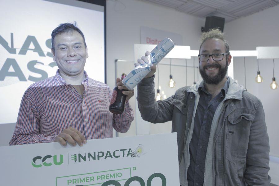 Pablo Herrera y Santiago Vega Villa, ganadores de Innpacta