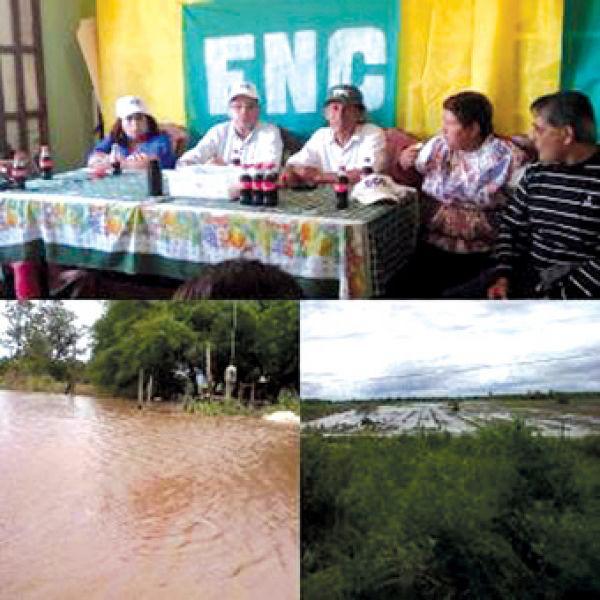 Reunión de la Federación Nacional de Campesinos en Anta. (Foto: Diario Info Salta).