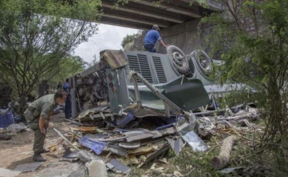 La tragedia en la que murieron 43 gendarmes ocurrió en la madrugada del 14 de diciembre de 2015 en Rosario de la Frontera.