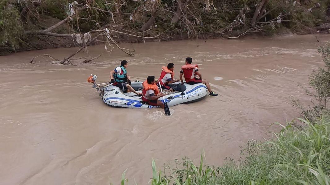 El niño fue encontrado en el río Arenales, cerca de La Pedrera
